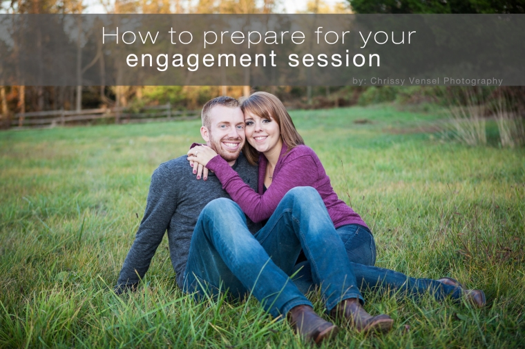 How to prepare for your engagement shoot