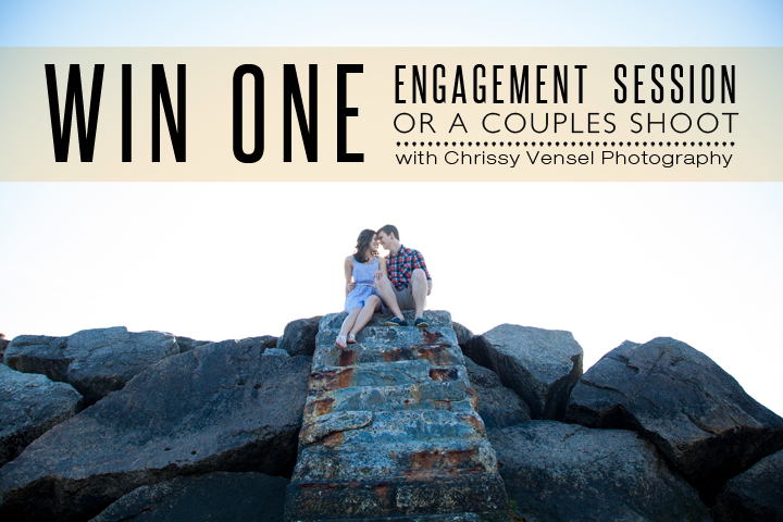 Chrissy Vensel Photography is giving away a free engagement session or couples shoot! Enter here